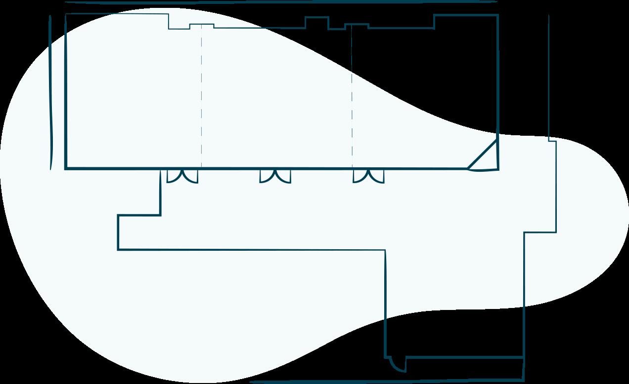 Pavilion Ballroom floorplan